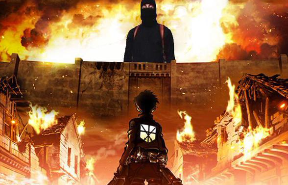 Attack on Islamic State.