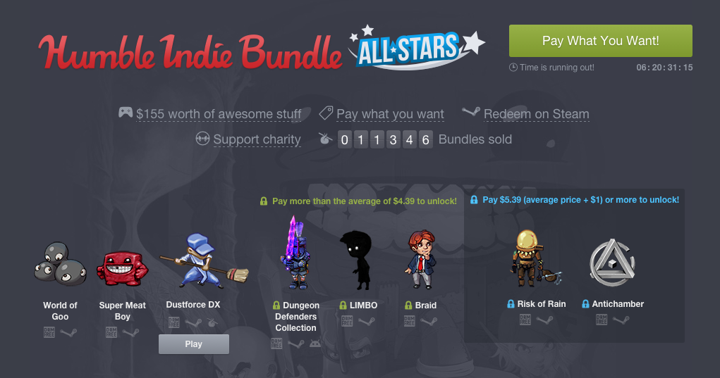 Humble Indie Bundle ALL STAR