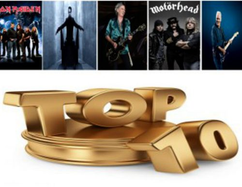 Top 10 Rock / Metal Albums of 2015