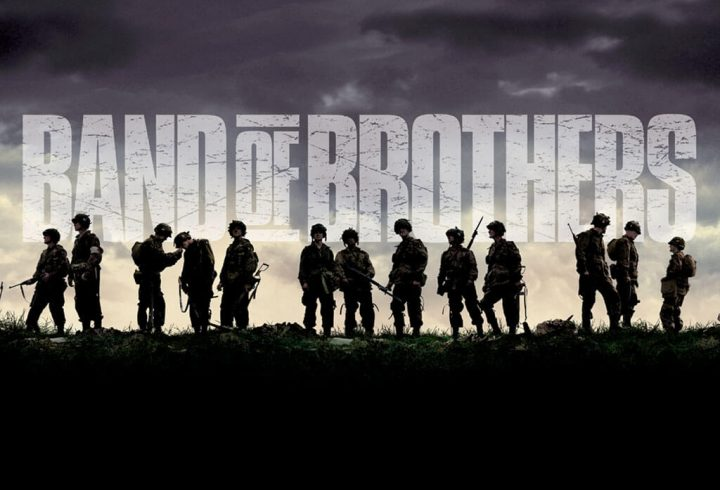 Band Of Brothers, serie HBO prodotta da Steven Spielberg e Tom Hanks.