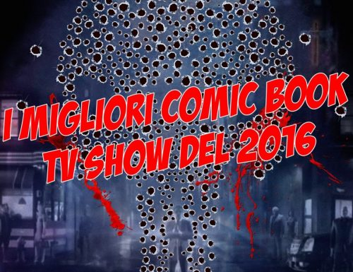I migliori comic book TV show del 2016